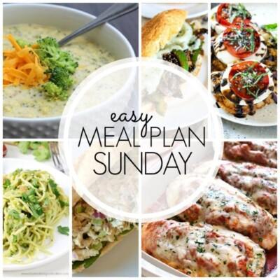 Easy Meal Plan – Week 61