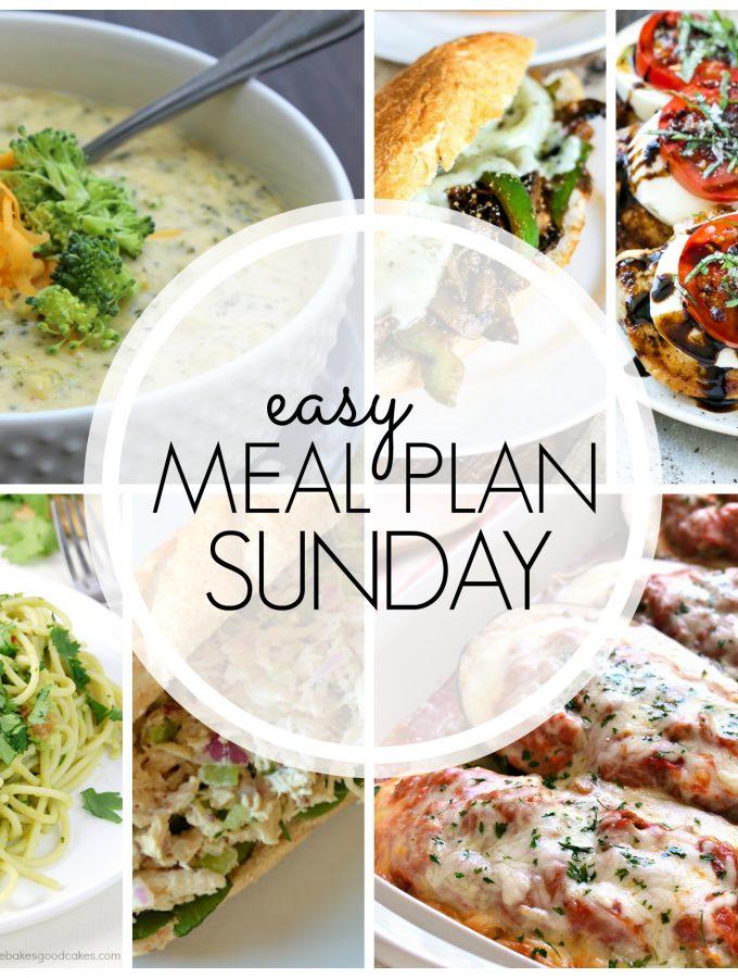 Easy Meal Plan - Week 61