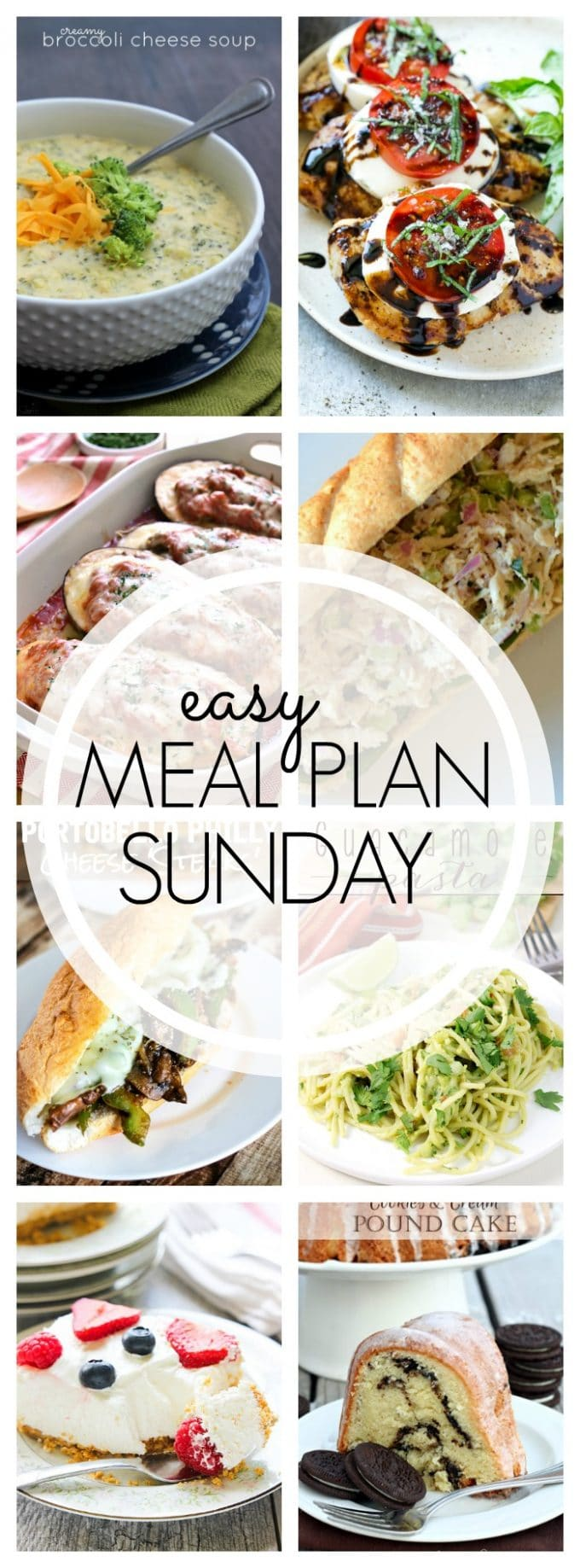Easy Meal Plan Sunday - Week 61