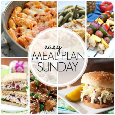 Easy Meal Plan Sunday – Week 59