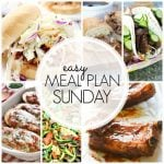 Easy Meal Plan Sunday – Week 62