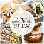 Easy Meal Plan Sunday - Week 62