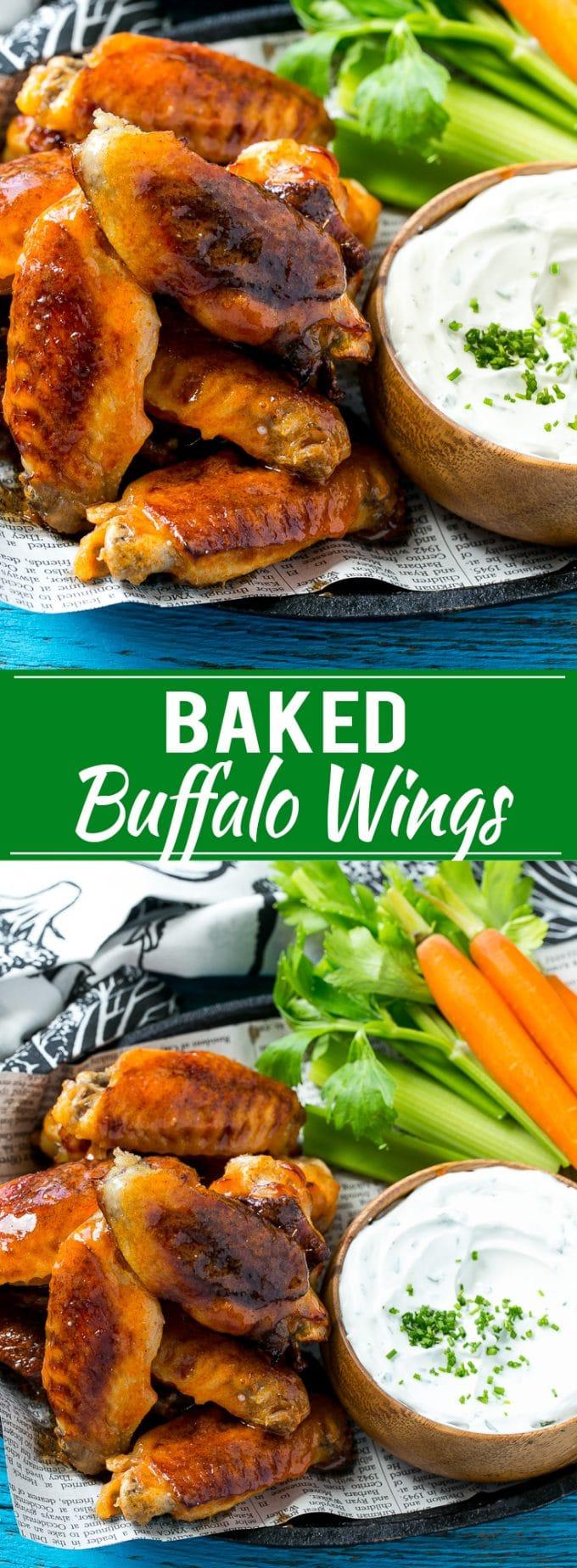 Baked Buffalo Wings Recipe | Buffalo Wings | Healthy Buffalo Wings | Crispy Wings