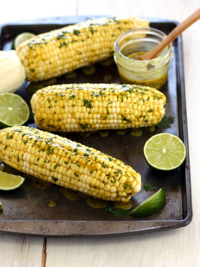 Toaster oven corn on the cob.
