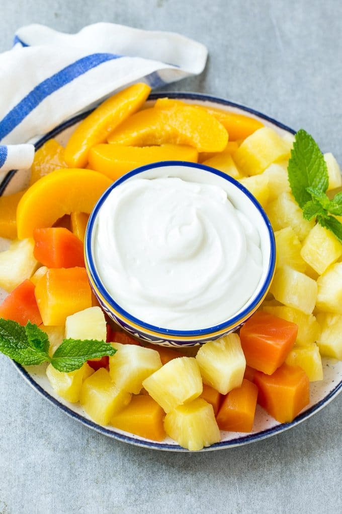 quenepa fruit fruit dip cream cheese
