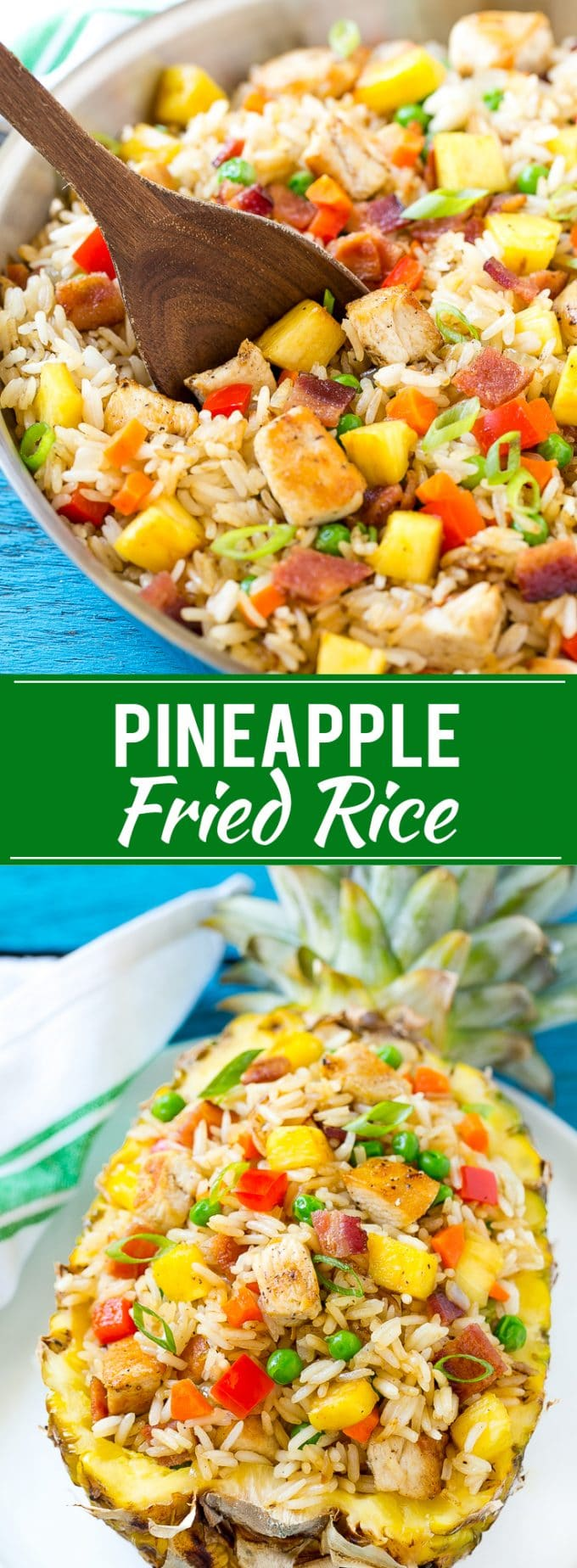 Pineapple fried rice dinner at the zoo pineapple fried rice recipe easy fried rice pineapple recipe side dish ccuart Image collections