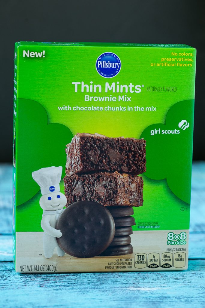 These Thin Mints® brownies are fudgy, packed with chocolate and taste ...