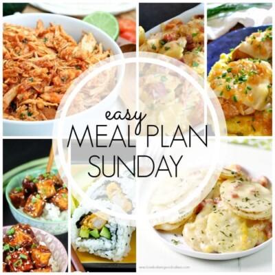 Easy Meal Plan Sunday – Week 63