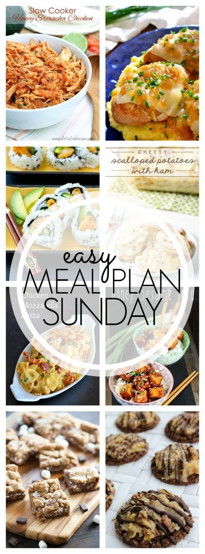 Easy Meal Plan Sunday - Week 63