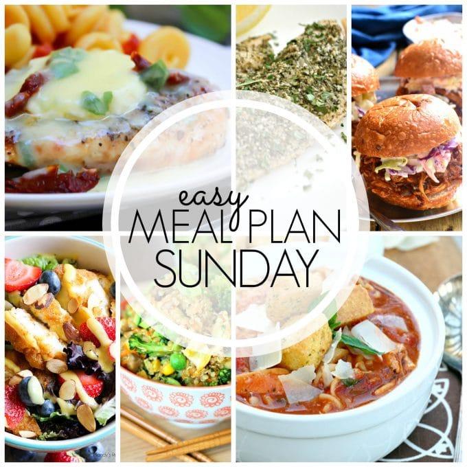 Easy Meal Plan Sunday - Week 64