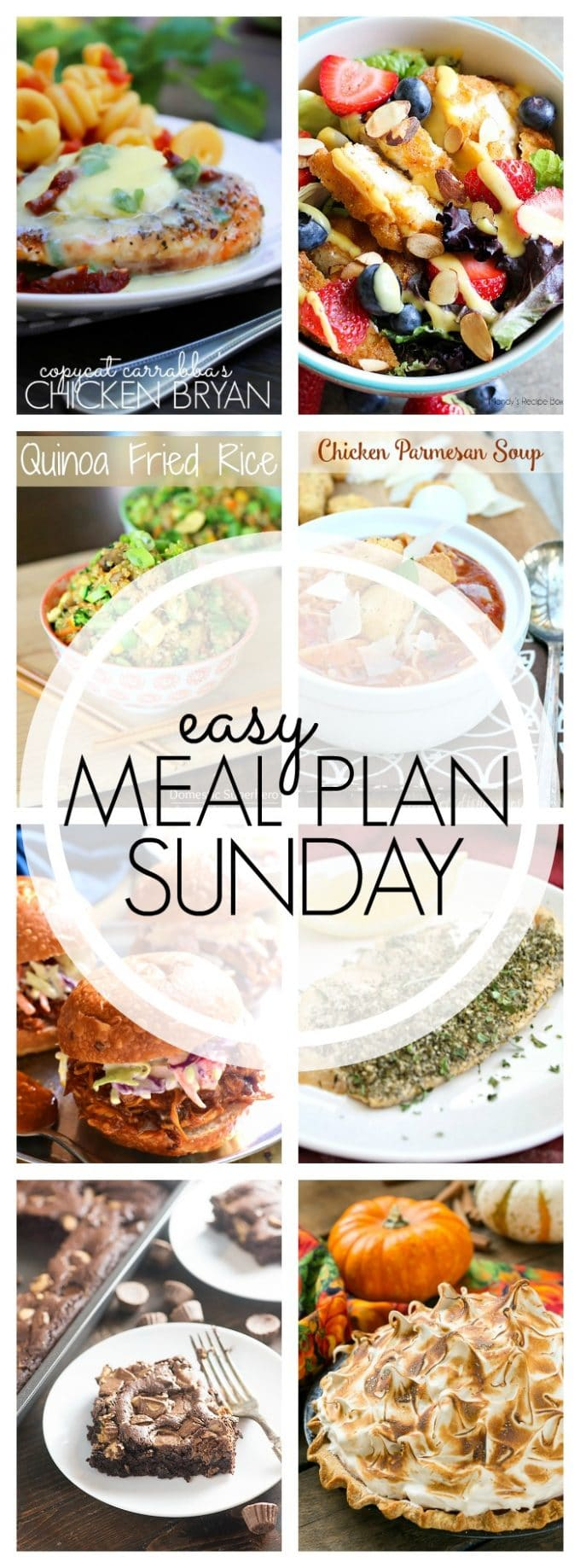 Easy Meal Plan Sunday - Week 64
