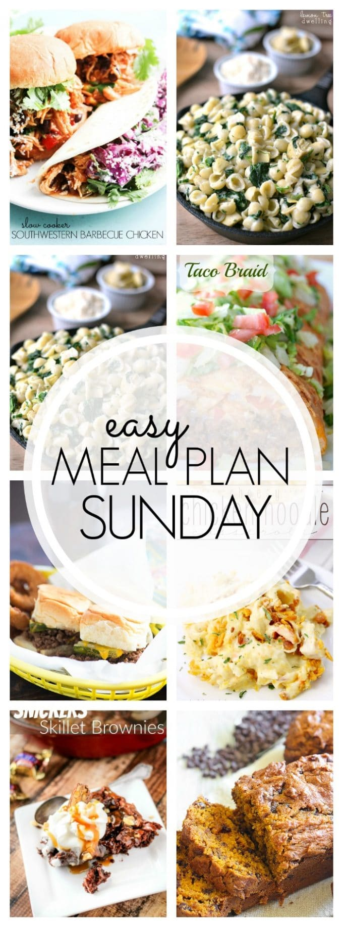 Easy Meal Plan Sunday Week 65