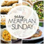 Easy Meal Plan Sunday – Week 66