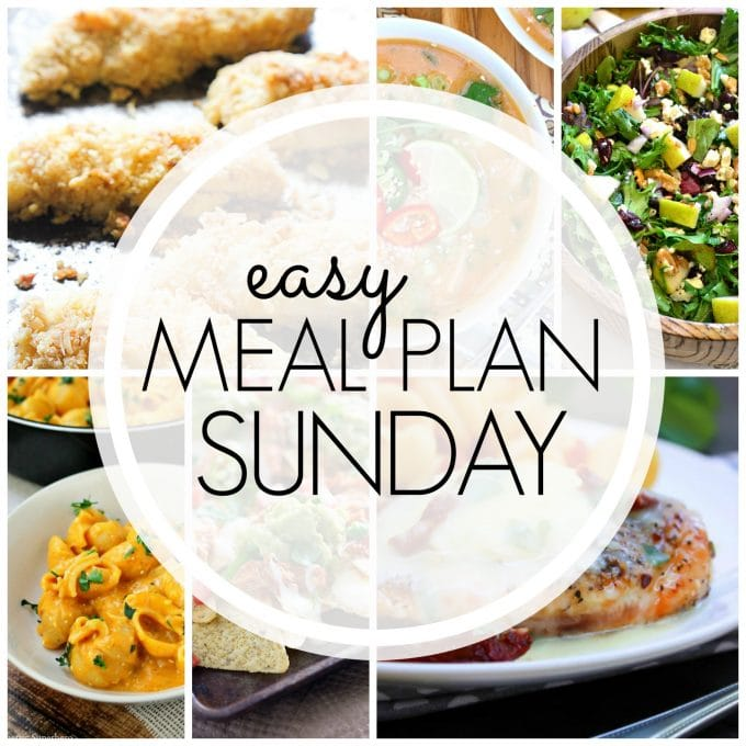 Easy Meal Plan Sunday Week 66