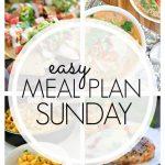 Easy Meal Plan Sunday Week 66
