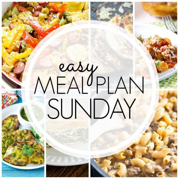 Easy Meal Plan Sunday - Week 67