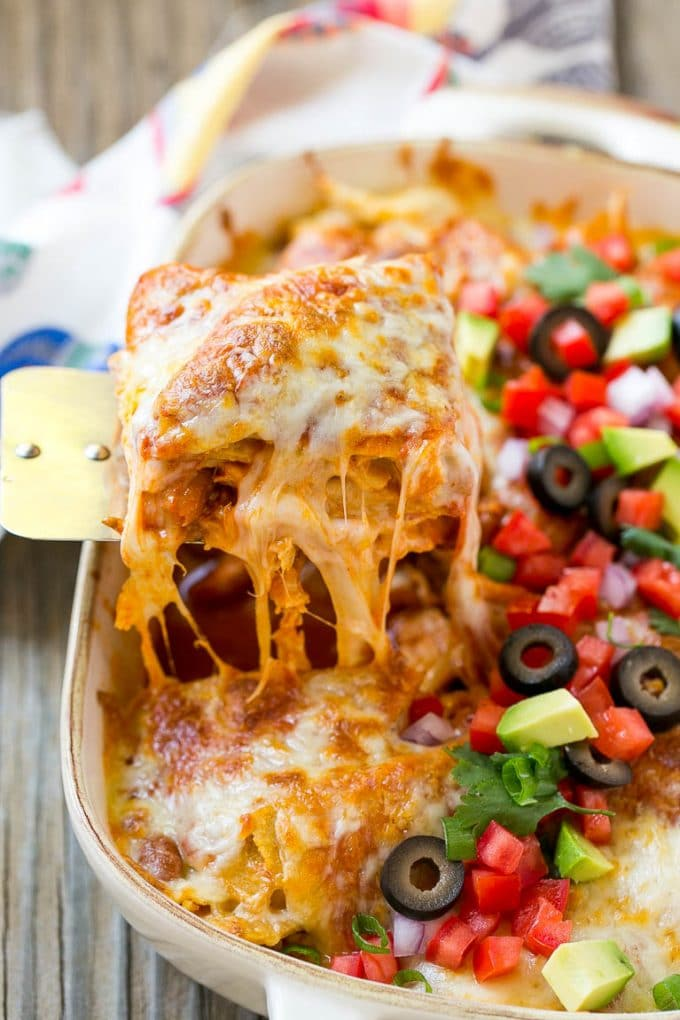 Leftover Mexican Food Casserole