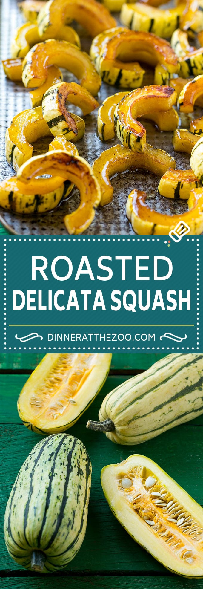 Brown Sugar Delicata Squash Recipe   Roasted Squash   Delicata Squash   Winter Squash Recipe #squash #wintersquash #brownsugar #sidedish #delicatasquash #dinner #dinneratthezoo