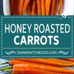 Honey Roasted Carrots Recipe | Roasted Carrots | Carrot Side Dish | Easy Carrot Recipe