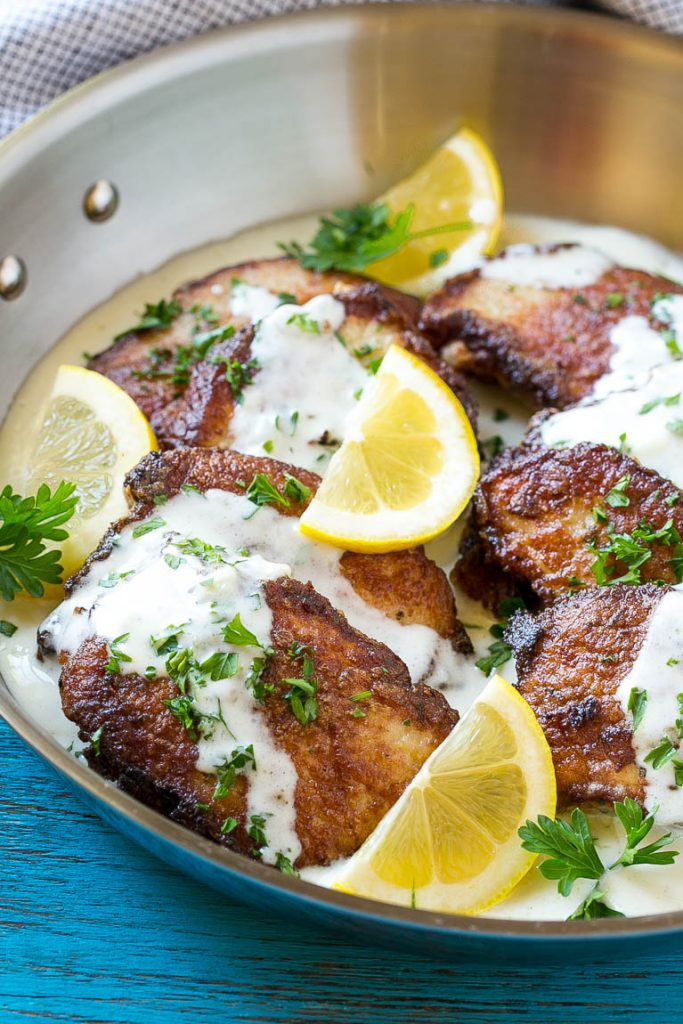 This Recipe For Pork Scallopini Is Tender Marinated Pork Seared To A Golden Brown And