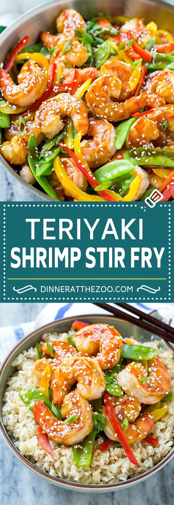Teriyaki Shrimp Stir Fry | Shrimp Recipe | Stir Fry Recipe #shrimp #teriyaki #vegetables #stirfry #dinner #dinneratthezoo