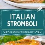 Stromboli Recipe | Italian Stromboli #pepperoni #cheese #ham #dinner #dinneratthezoo