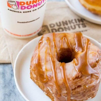 Caramel Apple Croissant Donut