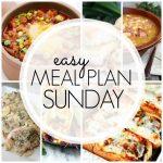 Easy Meal Plan Sunday – Week 68