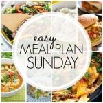 Easy Meal Plan Sunday Week 69