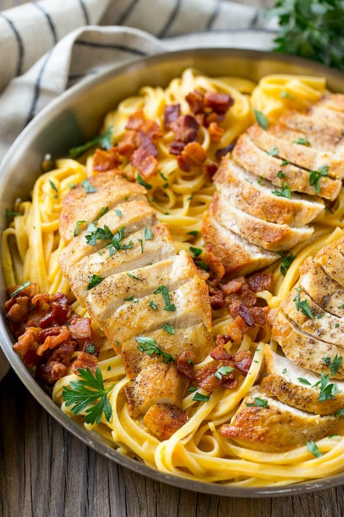 Butternut Squash Pasta with Chicken - Dinner at the Zoo
