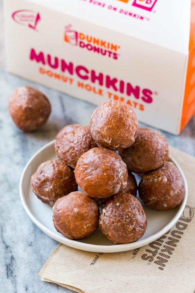 Dunkin' Donuts Pumpkin Munchkins
