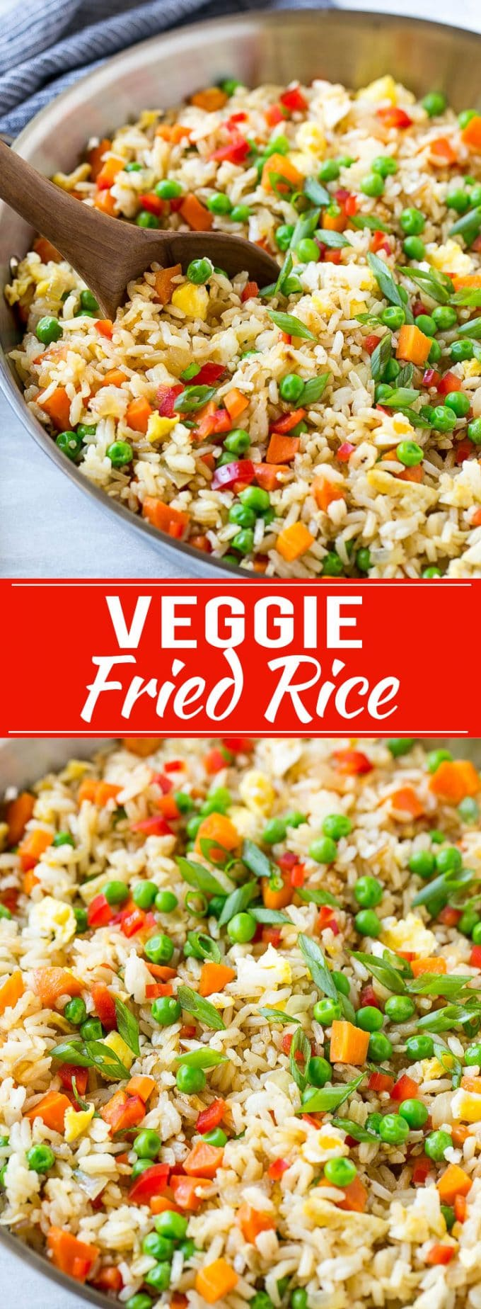 Veggie Fried Rice Recipe | Vegetarian Fried Rice | Easy Fried Rice Recipe | Chinese Food | Take Out #rice #friedrice #veggie #vegetarian #sidedish #dinneratthezoo