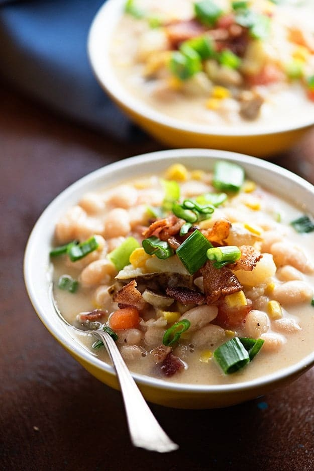 Sweet Corn Bean Chowder