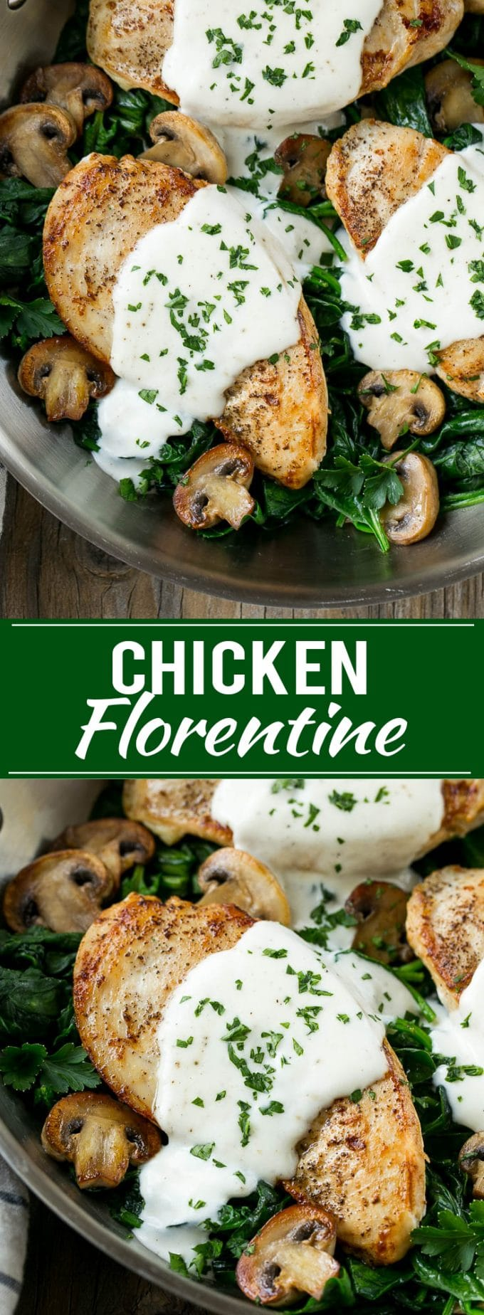 Chicken Florentine Recipe | Creamy Chicken | Easy Chicken Recipe | Chicken and Spinach | Easy Dinner Recipe