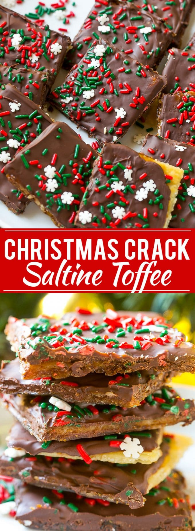 Christmas Crack (Saltine Toffee) - Dinner at the Zoo