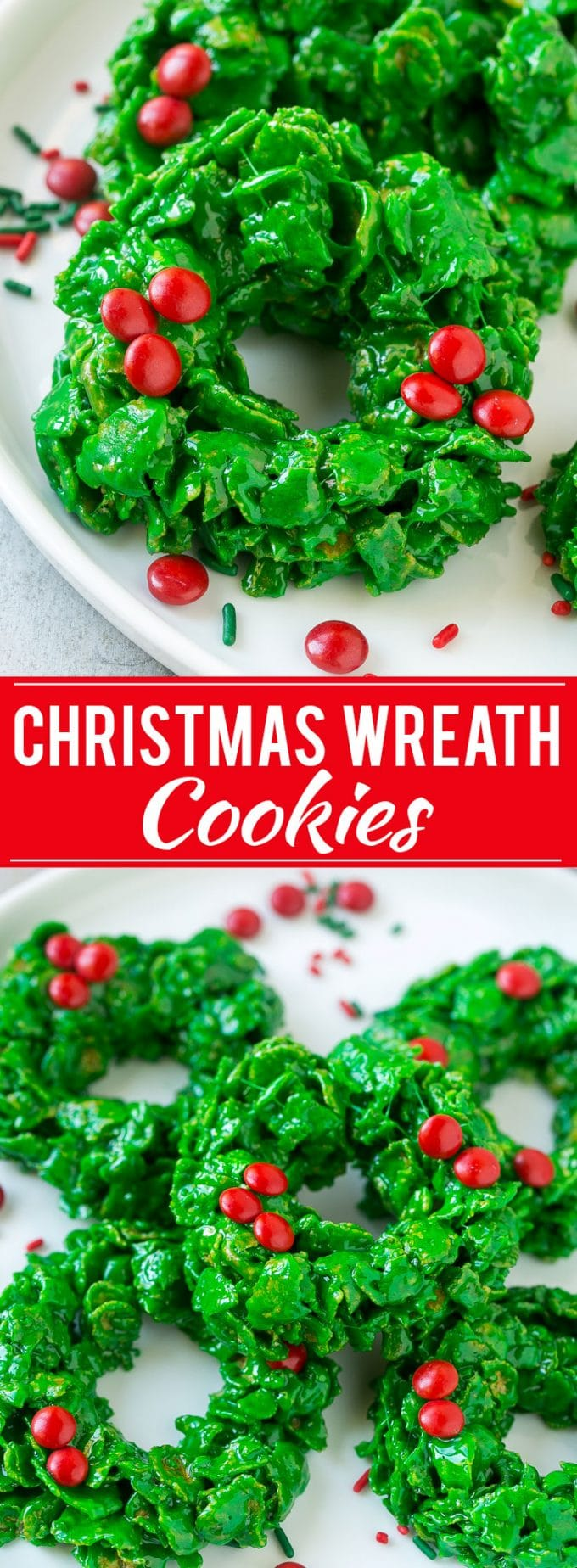 Christmas Wreath Cookies  Dinner at the Zoo