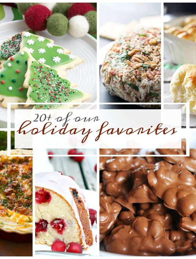 20+ of the very best holiday recipes!