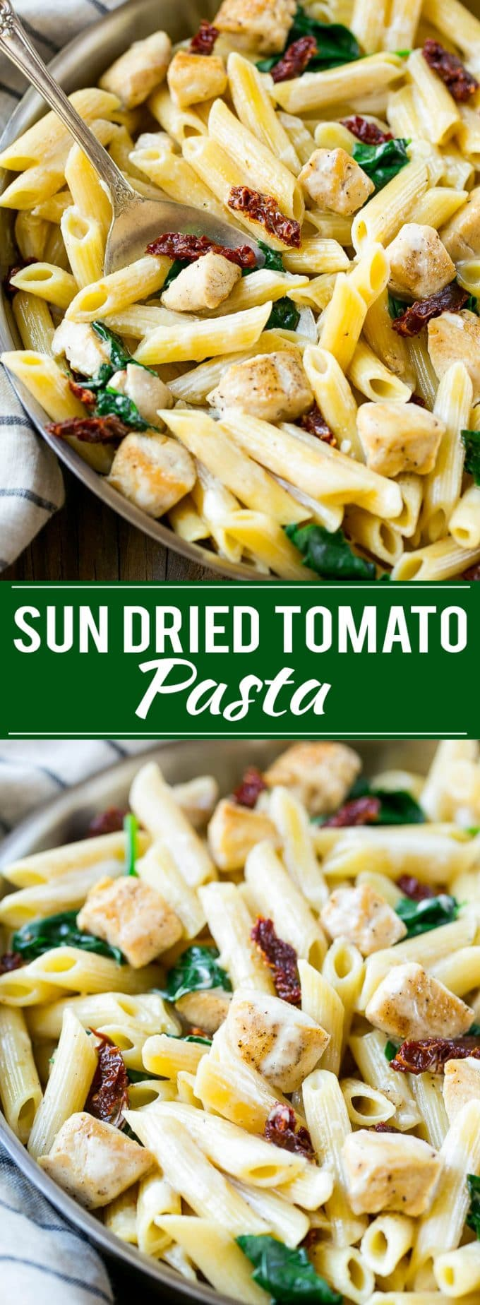 Sun Dried Tomato Pasta Recipe | Creamy Pasta | Chicken Pasta | Creamy Chicken Pasta | Easy Chicken Recipe | Chicken Recipe | Pasta Recipe #chicken #pasta #spinach #dinner #dinneratthezoo