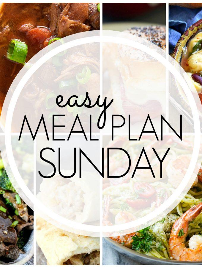 Easy Meal Plan Sunday – Week 77