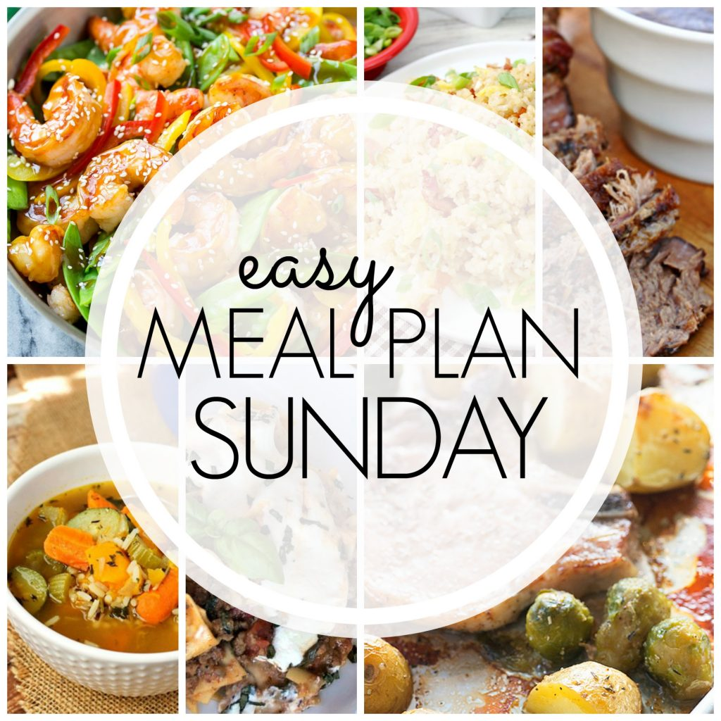 Easy Meal Plan Sunday - Week 76