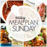 Easy Meal Plan Sunday - Week 78