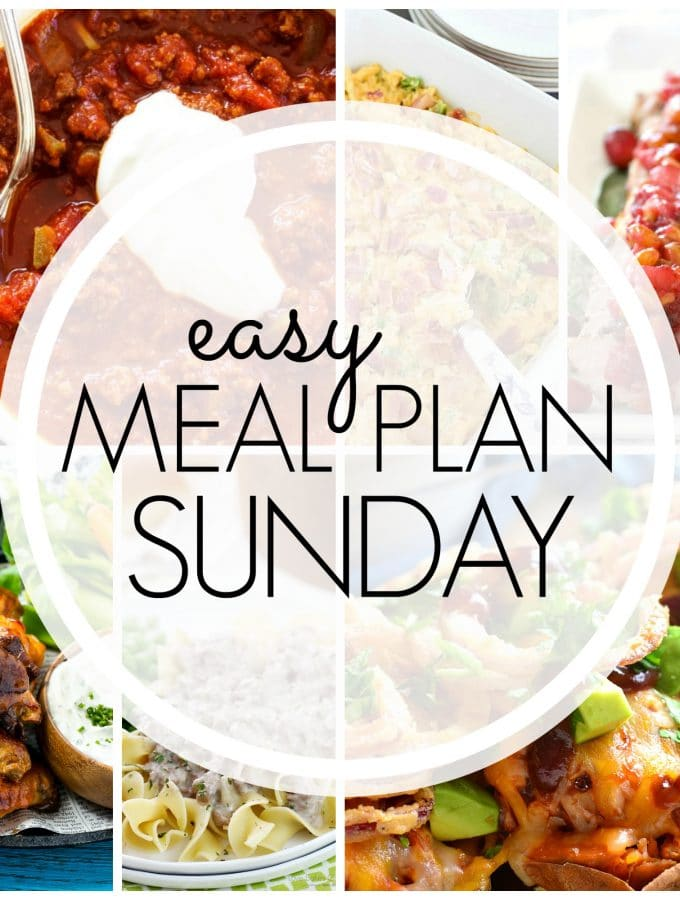 Easy Meal Plan Sunday – Week 78