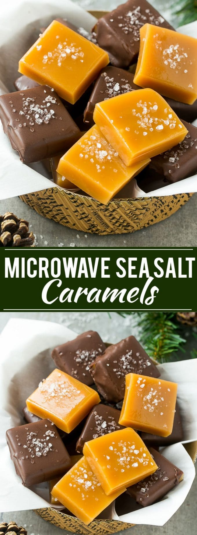 Microwave Caramel Recipe   Homemade Caramels   Sea Salt Caramel   Easy Caramel Recipe   Caramel Recipe