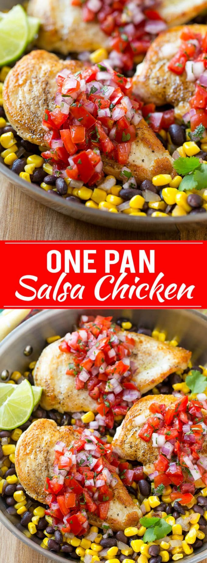 Salsa Chicken Recipe | Mexican Chicken | One Pot Meal | Healthy Chicken Recipe