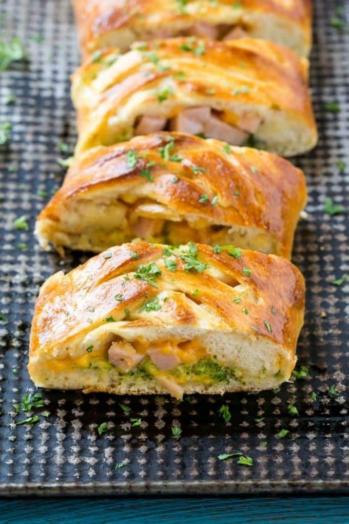Ham & Cheese Stromboli