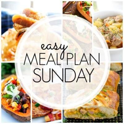 Easy Meal Plan Sunday – Week 79