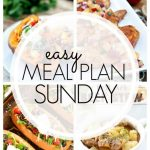 Easy Meal Plan Sunday - Week 79
