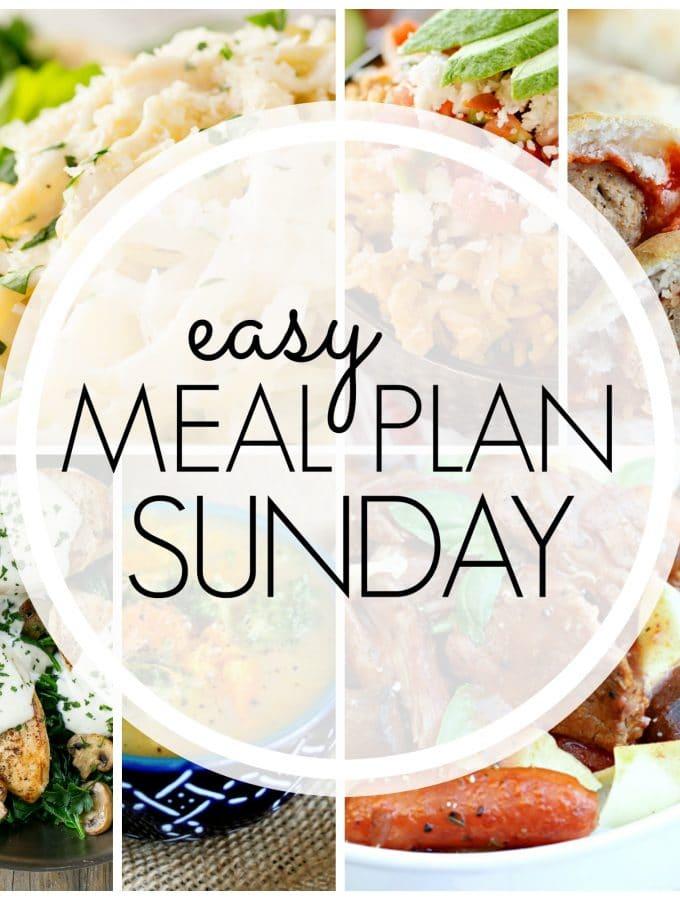 Easy Meal Plan Sunday – Week 81