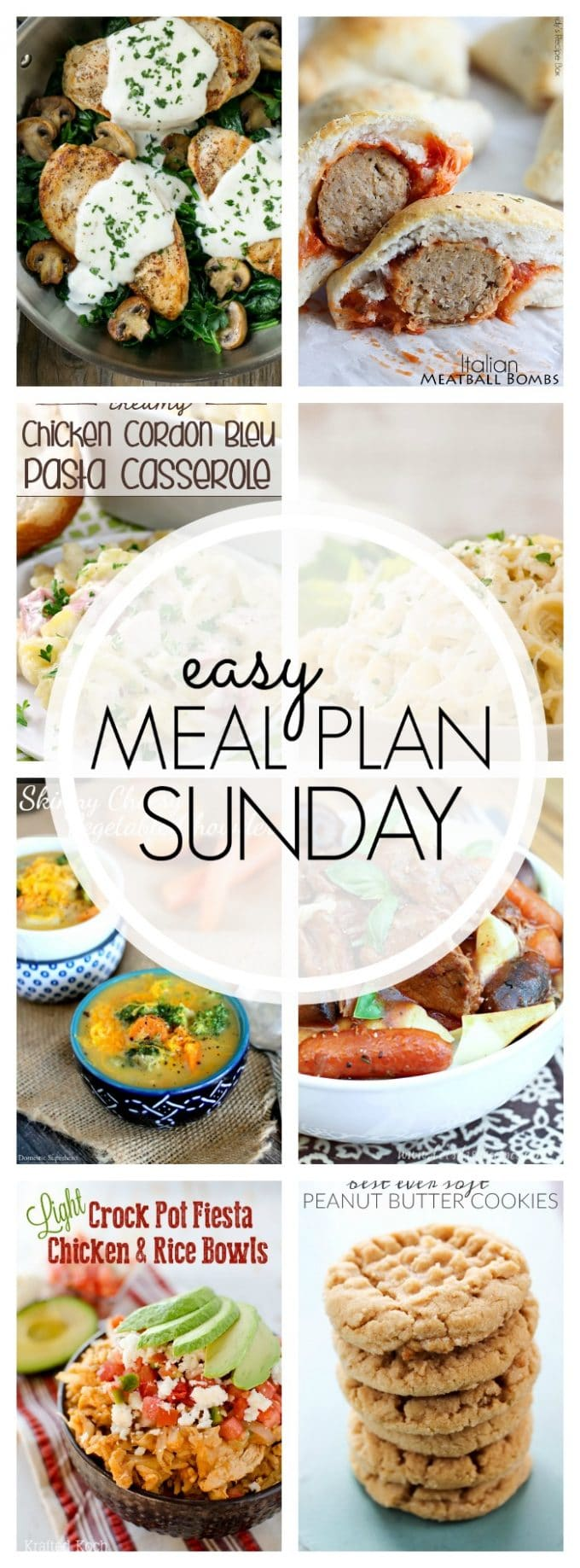 Easy Meal Plan Sunday - Week 81