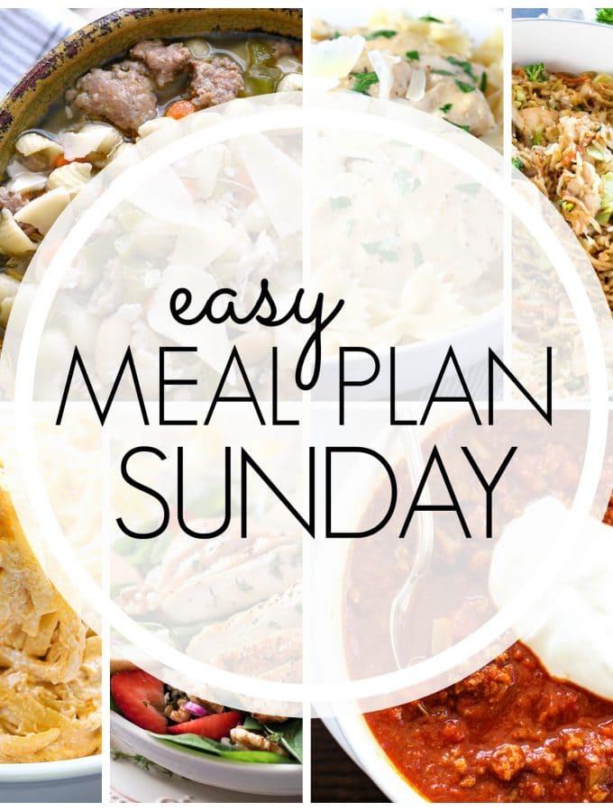 Easy Meal Plan Sunday – Week 82